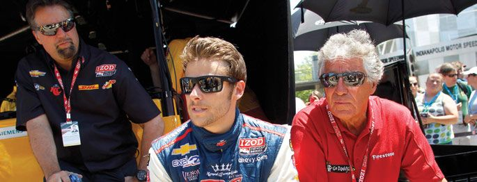 Indy 500: Mario and Marco Andretti Talk History and Heritage