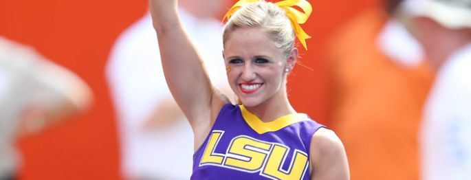 LSU Tigers Cheerleaders