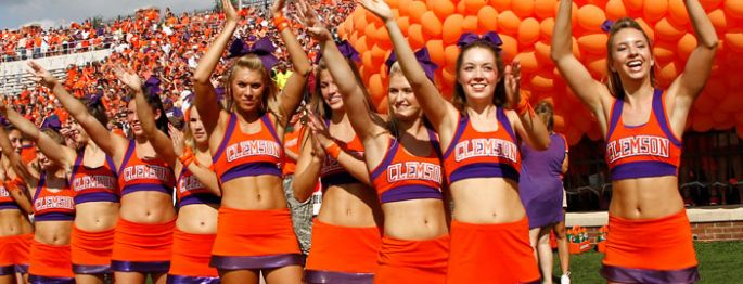 Clemson Tigers Cheerleaders