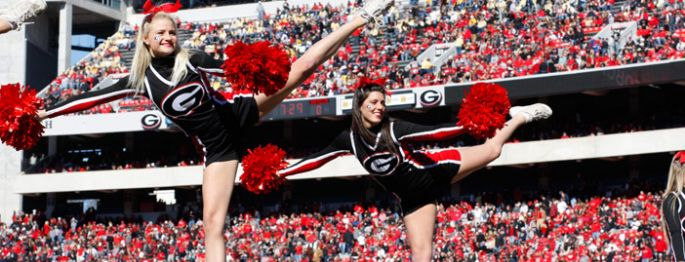 Georgia Bulldogs Cheerleaders