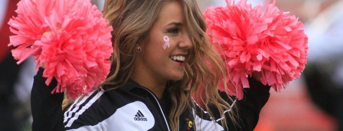Louisville Cardinals Cheerleaders